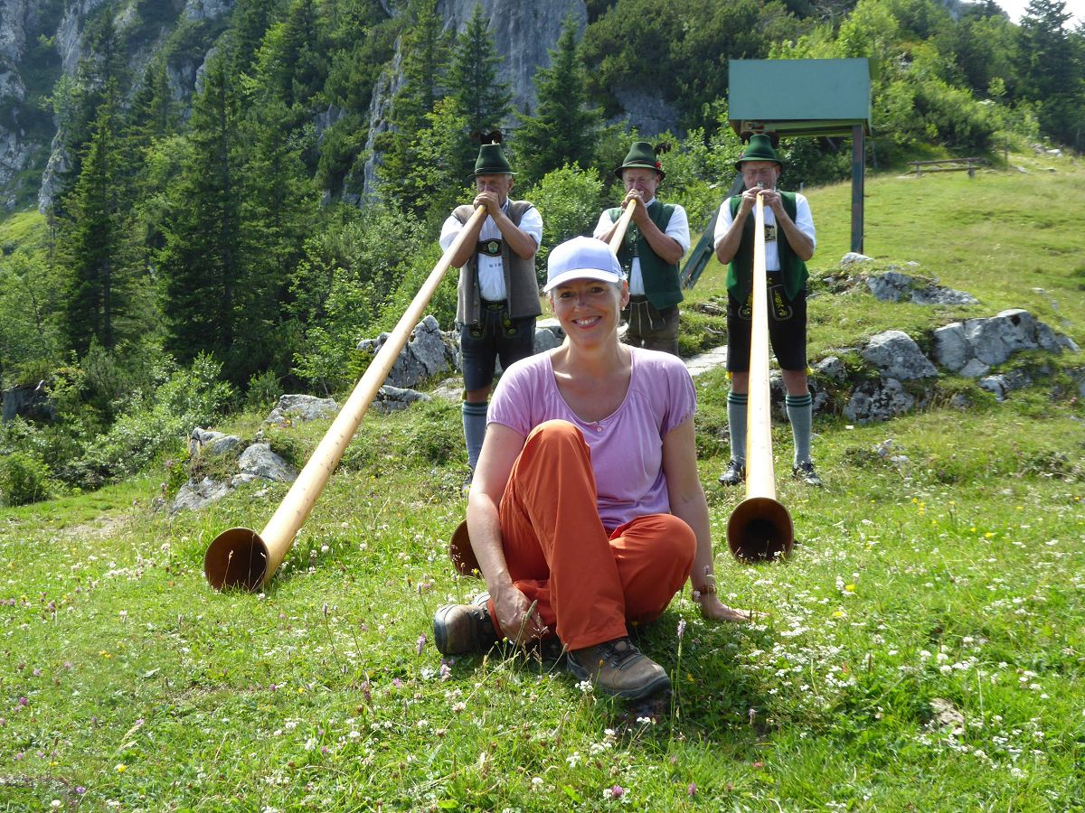Petra Maria Knickenberg alphorn kampenwand