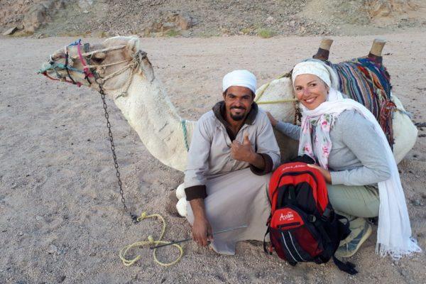 Petra mit Beduine (2)