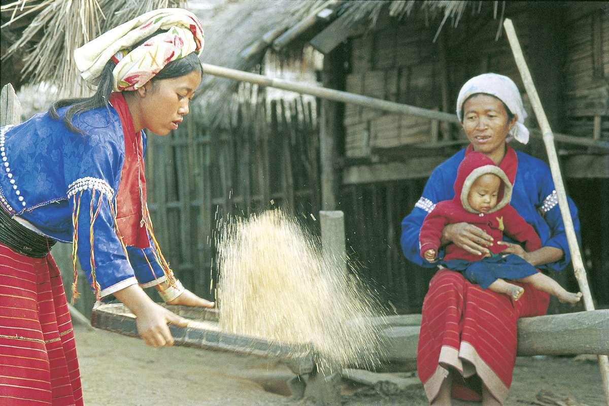 Menschen in Nordthailand_1