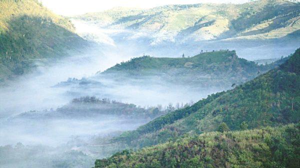 Nordthailand im Nebel
