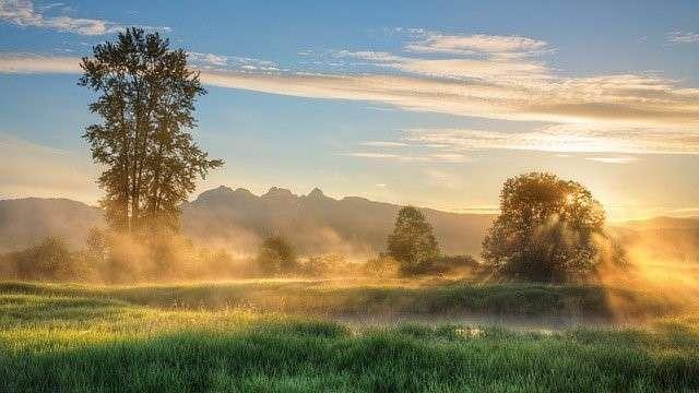 Landschaft Intuition